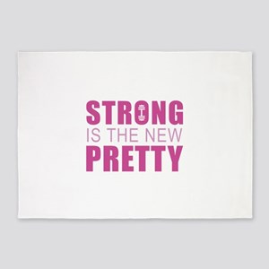 Strong Is The New Pretty 5'x7'Area Rug