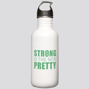Strong Is The New Pretty Stainless Water Bottle 1.