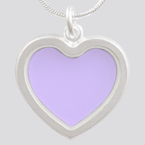 girly modern lilac purple Necklaces