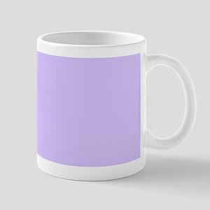 girly modern lilac purple Mugs