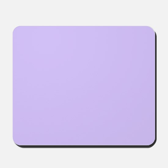 girly modern lilac purple Mousepad
