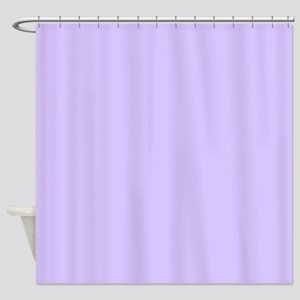 Girly Modern Lilac Purple Shower Curtain