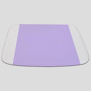 girly modern lilac purple Bathmat