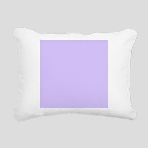 girly modern lilac purpl Rectangular Canvas Pillow