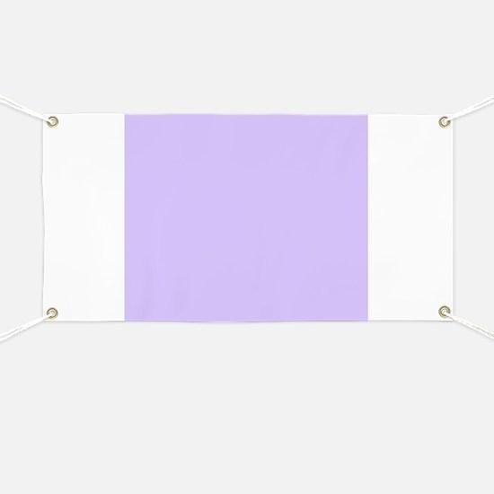 girly modern lilac purple Banner