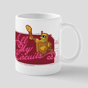 Futurama All My Circuits Mug