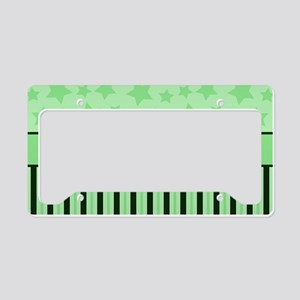 Soccer Star grn License Plate Holder