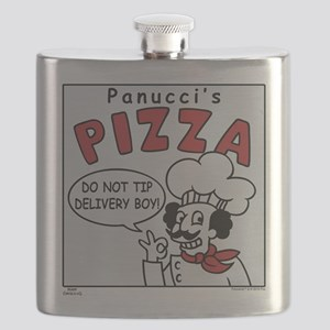 Futurama Pizza Flask