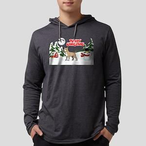 Merry Christmas American Pitbu Long Sleeve T-Shirt