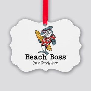 Beach Boss Ornament