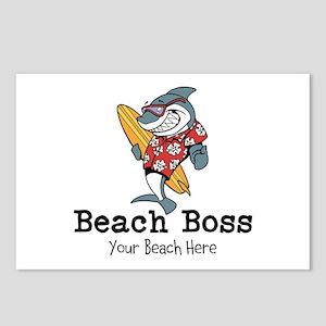 Beach Boss Postcards (Package of 8)