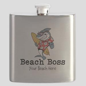 Beach Boss Flask