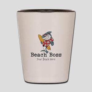 Beach Boss Shot Glass