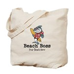 Beach Boss Tote Bag