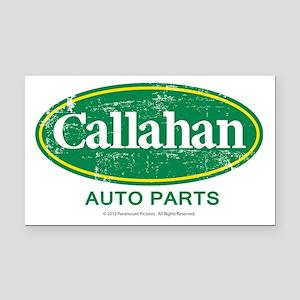 Callahan Rectangle Car Magnet