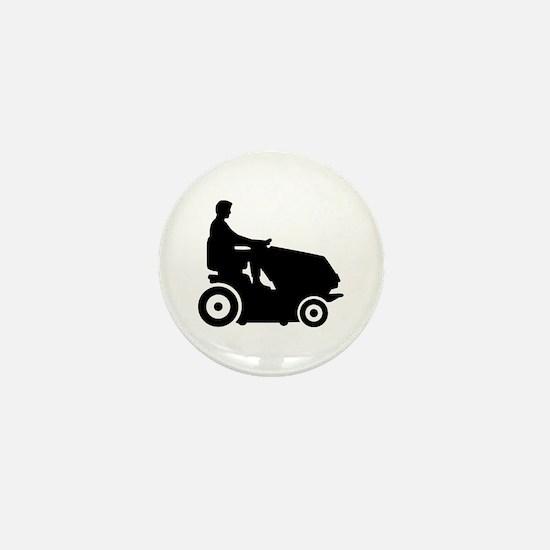 Lawn mower driver Mini Button