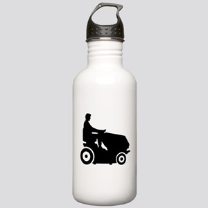 Lawn mower driver Stainless Water Bottle 1.0L