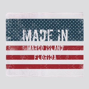 Made in Marco Island, Florida Throw Blanket
