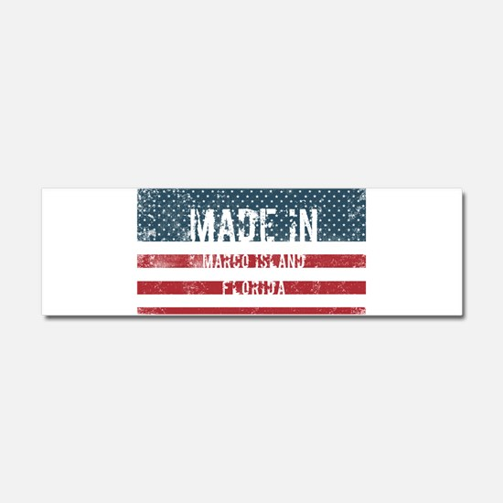 Made in Marco Island, Florida Car Magnet 10 x 3