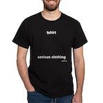 tshirt: serious clothing Black T-Shirt