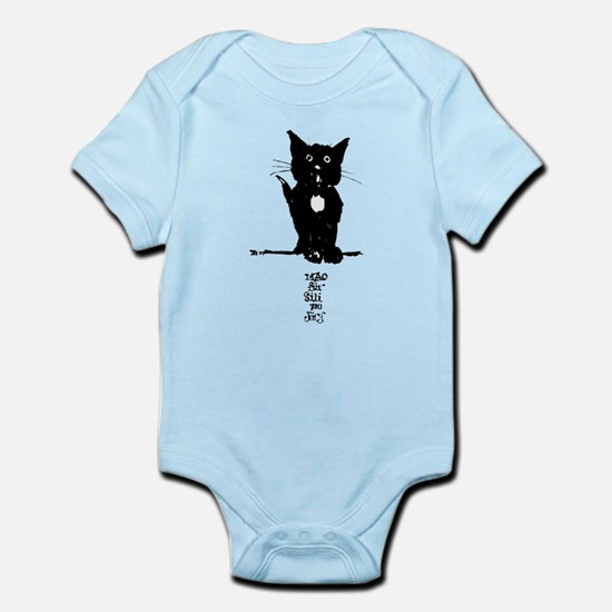 Cat by Doeberl Infant Creeper