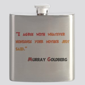 Husband of the Year Flask