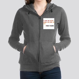 Husband of the Year Women's Zip Hoodie