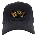 Flaming Heretic Black Cap With Patch