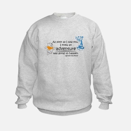 Cartoon Winnie The Pooh Sweatshirt
