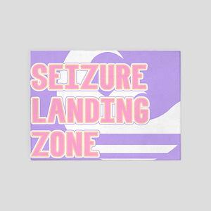 Seizure Landing Zone 5'x7'Area Rug