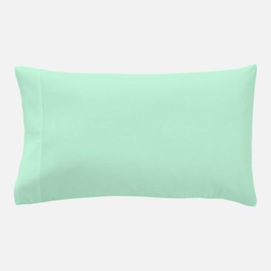 cute mint green Pillow Case
