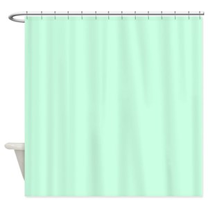 Mint Green Shower Curtains