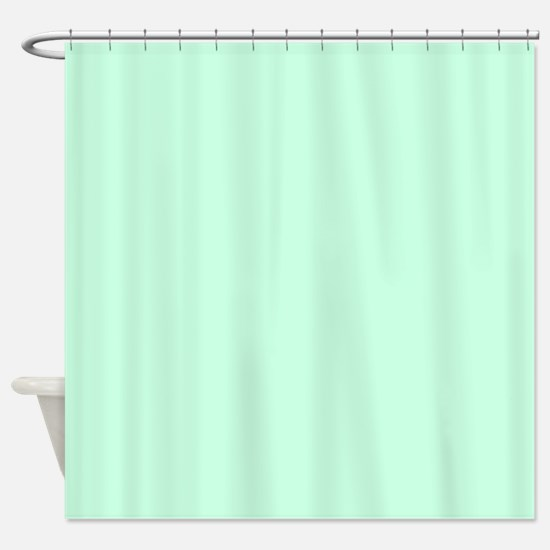 Mint Green Shower Curtain. cute mint green Shower Curtain Pastel Mint Green Curtains  CafePress