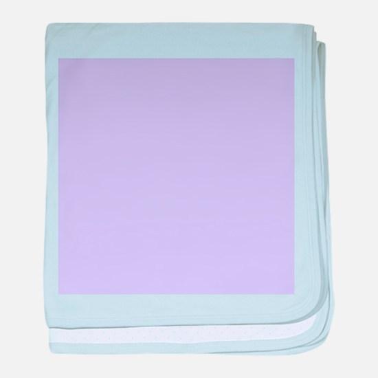 girly modern lilac purple baby blanket