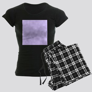 girly modern lilac purple Women's Dark Pajamas