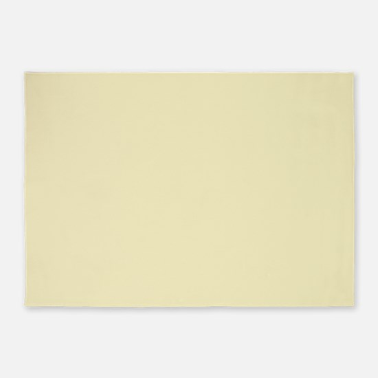 modern light yellow 5'x7'Area Rug