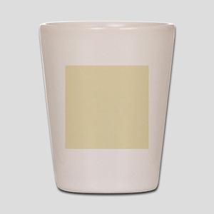 modern light yellow Shot Glass