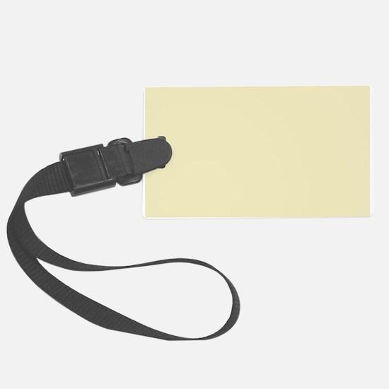 modern light yellow Luggage Tag
