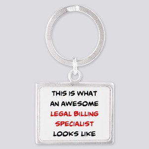 awesome legal billing specialis Landscape Keychain