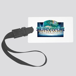 Survivor World's Apart Large Luggage Tag