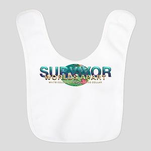 Survivor World's Apart Polyester Baby Bib