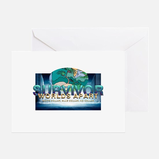 Survivor Worlds Apart Greeting Card