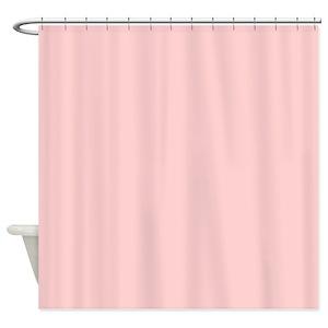 Blush Shower Curtains