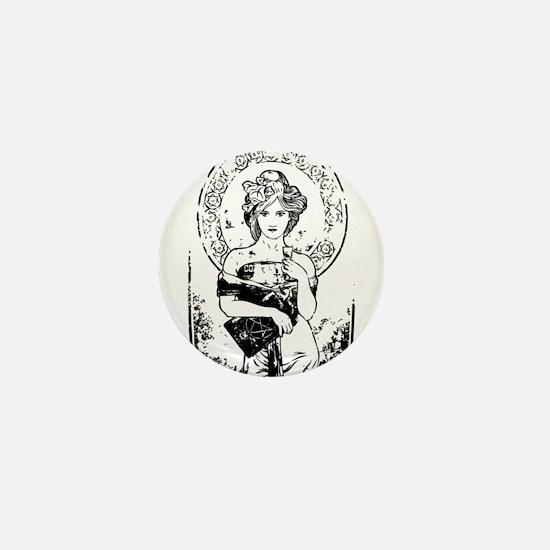 Goddess Mini Button