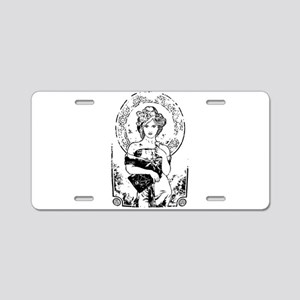 Goddess Aluminum License Plate