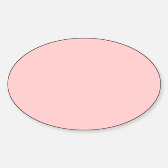 modern baby pink Decal