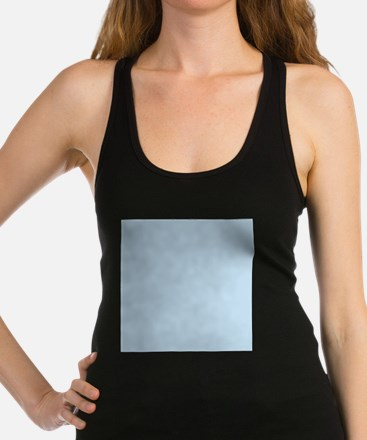 modern chic light blue Racerback Tank Top