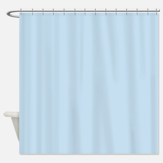 modern chic light blue Shower Curtain