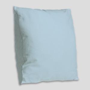 modern chic light blue Burlap Throw Pillow