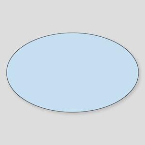 modern chic light blue Sticker